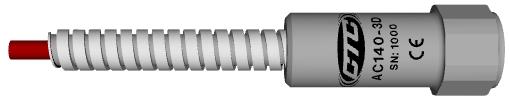Акселерометр AC140-3D с бронированным кабелем