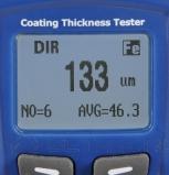 Толщиномер лакокрасочных покрытий PCE CT 60