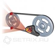 Система лазерной юстировки шкивов Easy-Laser D130