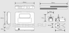 Ультразвуковой расходомер Portaflow 330