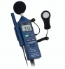 PCE-EM882 шумомер, влагомер, люксметр, термометр